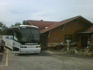 Morgan Coach at Sugar Creek Ohio